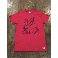 メンズプリントTシャツ ST-1