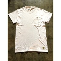 メンズ ポケット付き刺繍Tシャツ ST-12