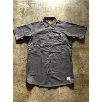 画像1: 半袖ワークシャツ SH-2