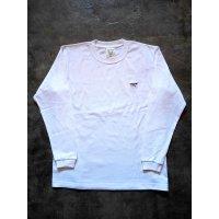 メンズ 刺繍ロングスリーブTシャツ LT-3