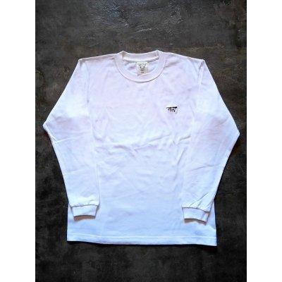 画像1: メンズ 刺繍ロングスリーブTシャツ LT-3