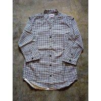 DelBombers&co. バンドカラーシャツ(五分袖) DWーSH3